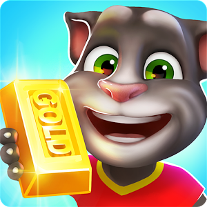 دانلود بازی تام دونده Talking Tom Gold Run اندروید همراه با نسخه مود